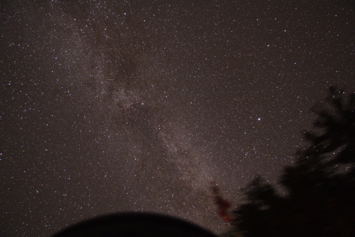 Milky Way Overhead