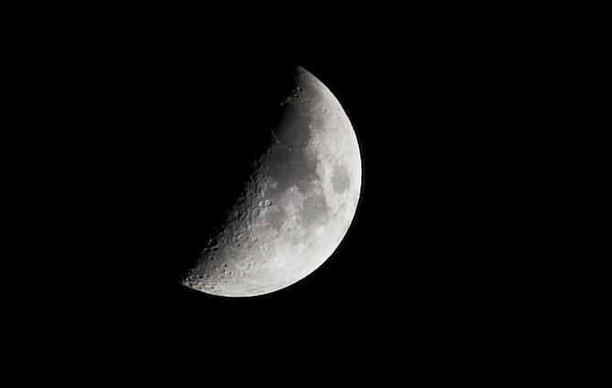 The Moon (With the new lens)