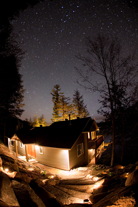 Stars Over Cottage